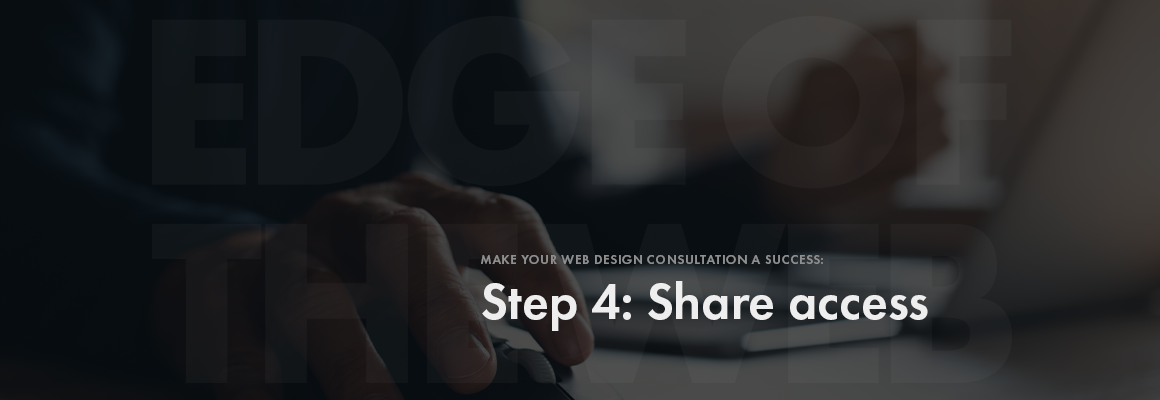 Step 4: Share access
