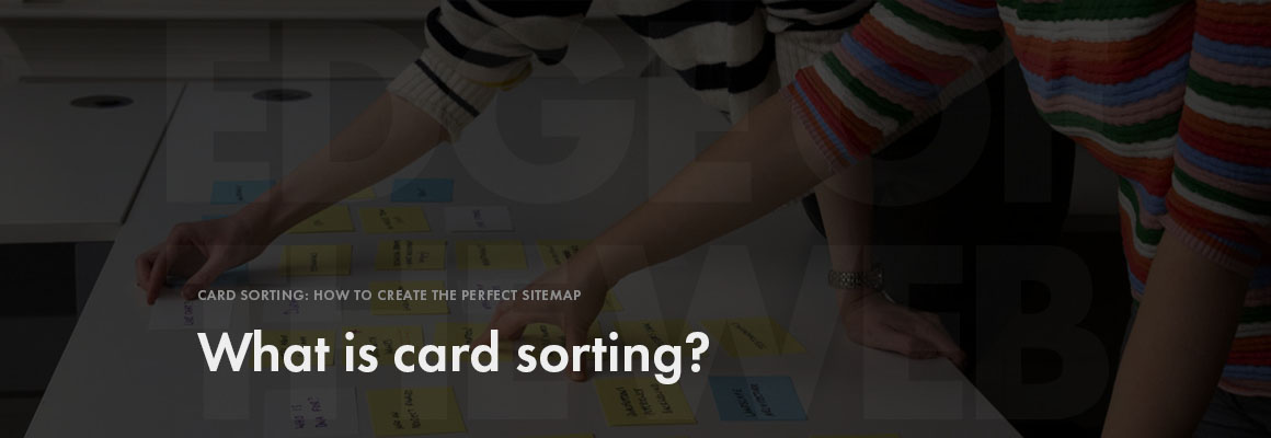 What is card sorting