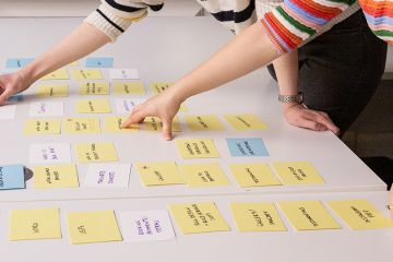 UX Testing - Card Sorting exercise